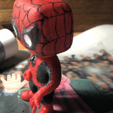Picture of print of Spider-Man (Marvel Bobble Head Heroes)