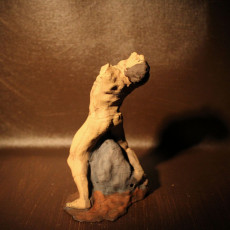 Picture of print of The Falling Man at The Musée Rodin, Paris