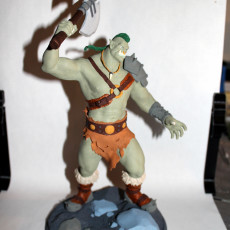 Picture of print of Orc Rage - Hearthstone