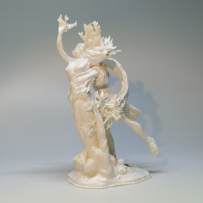 Picture of print of Apollo and Daphne at the Galleria Borghese, Rome