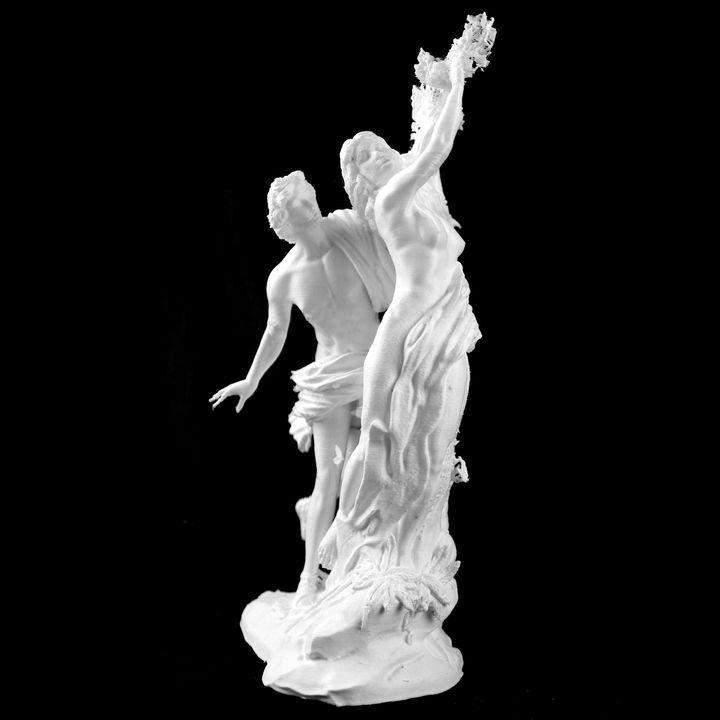 Apollo and Daphne at the Galleria Borghese, Rome