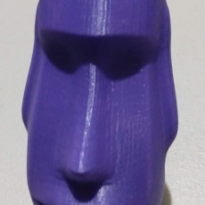 Picture of print of Easter Island Head Tape Dispenser