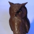 pigeon scarers - owl print image