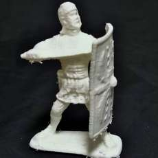 army soldier with sword