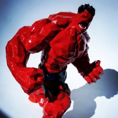 Picture of print of Red Hulk - Low Detail Series