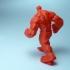Red Hulk - Low Detail Series print image
