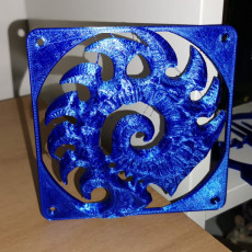 Picture of print of Starcraft Zerg wall symbol