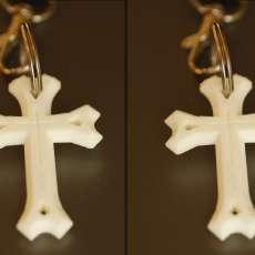 East Syriac Cross Pendant
