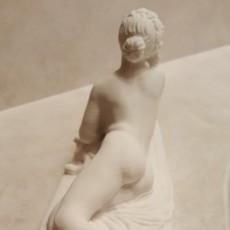 Picture of print of Dicré at the Louvre, Paris, France