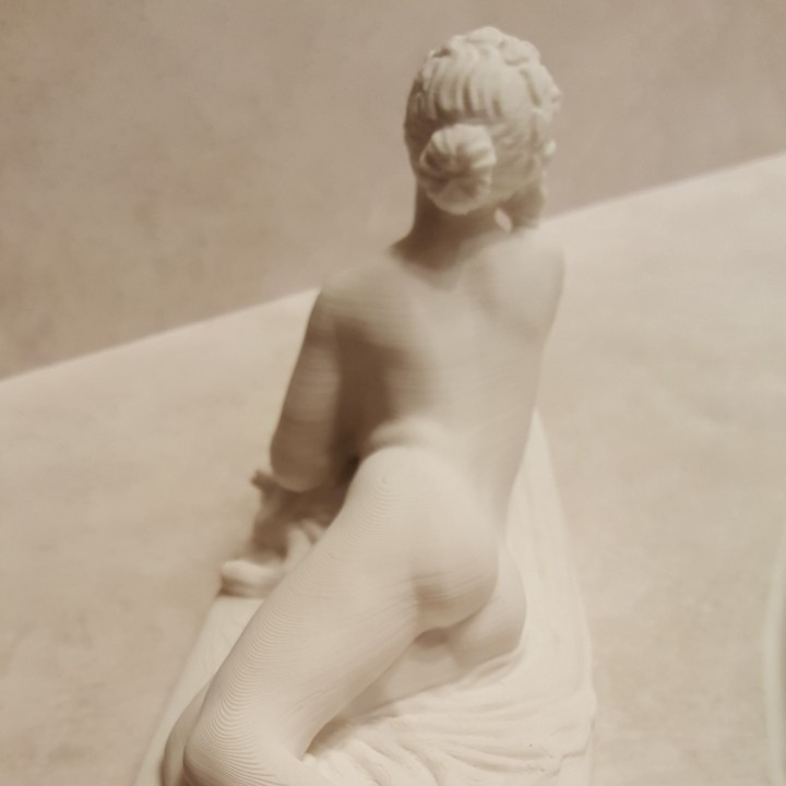 Picture of print of Dicré at the Louvre, Paris, France This print has been uploaded by Wallace Buege
