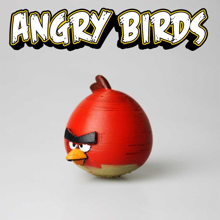 3D Printable TERENCE - Angry Birds by Marco Autilio