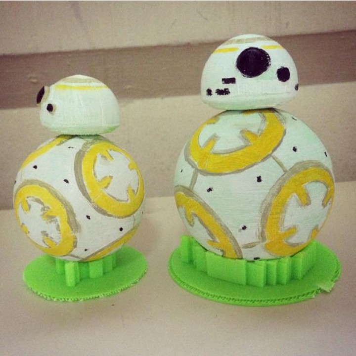 Picture of print of Moving BB8 Star Wars Droid This print has been uploaded by arthur ng