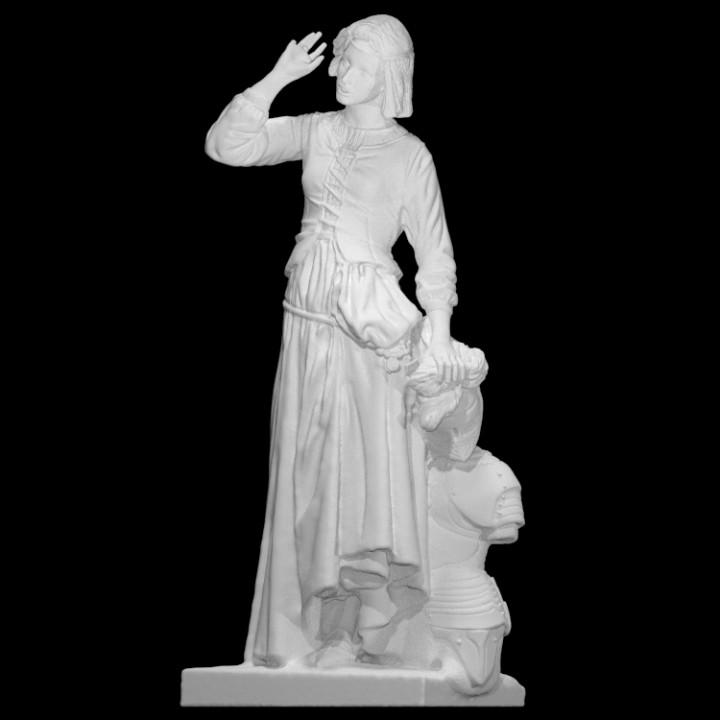 Jeanne d'Arc at The Louvre, Paris