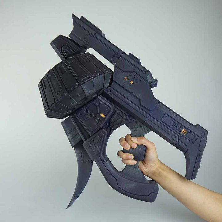 3D Printable Halo Mauler by Marco Morata