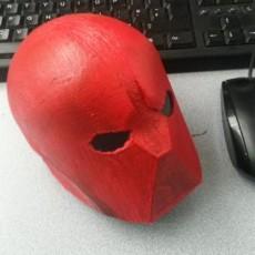 Picture of print of Red Hood helmet