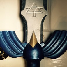 Picture of print of Zelda Master Sword