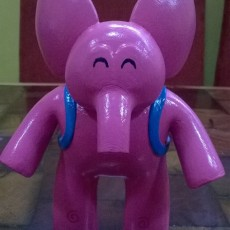 Picture of print of Elly Pocoyo This print has been uploaded by jose antonio dominguez