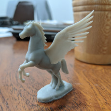 Picture of print of Pegasus Horse