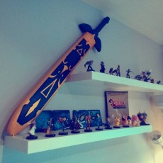 Picture of print of Zelda Master Sword Sheath This print has been uploaded by Quilate