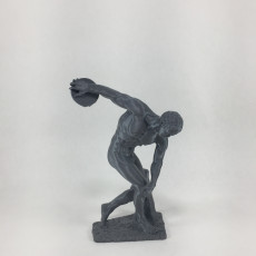 Picture of print of Discobolus at The British Museum, London