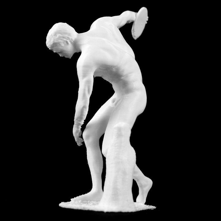 Discobolus at The British Museum, London