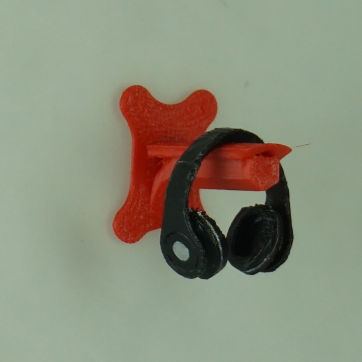 Wall Mounted Headphone Holder