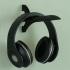 Wall-Mount Headphone Stand print image
