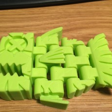 Picture of print of GRAPHICA: Fish - via 3DKitbash (Print & Play)