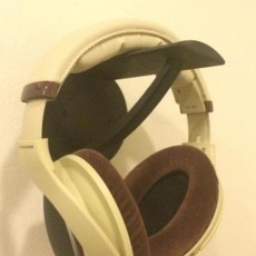 Picture of print of Wall mount headphone holder