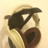 Wall mount headphone holder print image