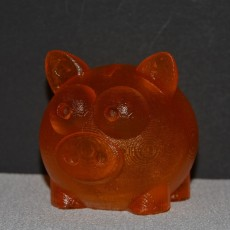 Picture of print of piggy bank
