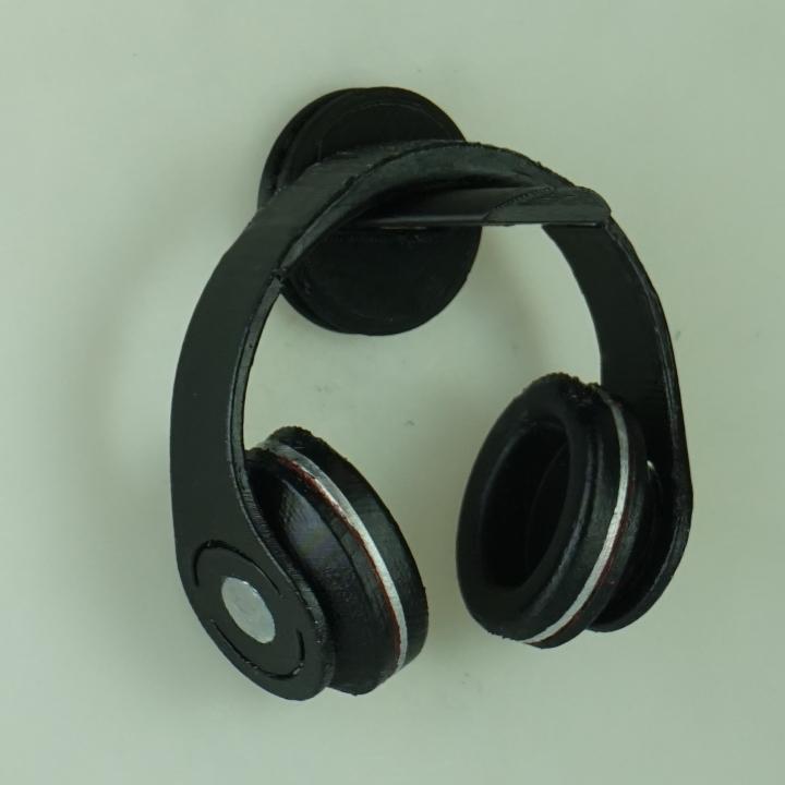 3d printable silverstone wall mounted headphone holder by jeffrey weber - Wall mount headphone holder ...