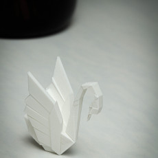 Picture of print of Swan Vase