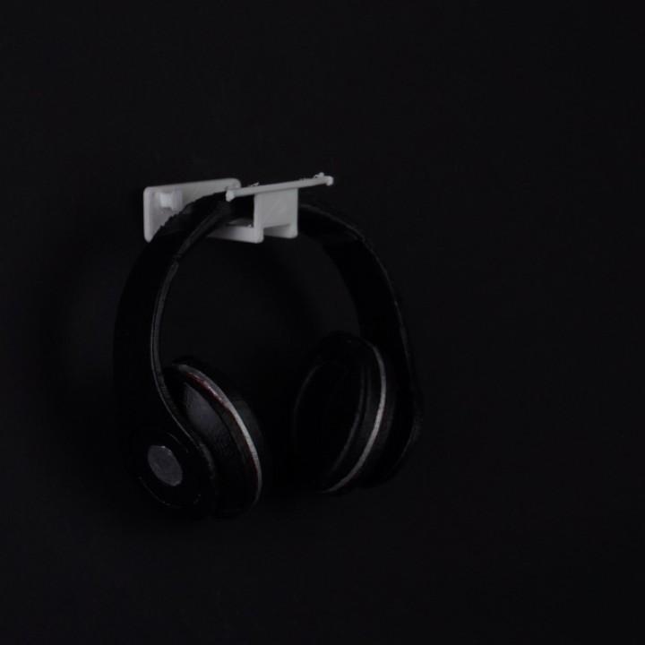 Wall Mount Headphone/earbud stand