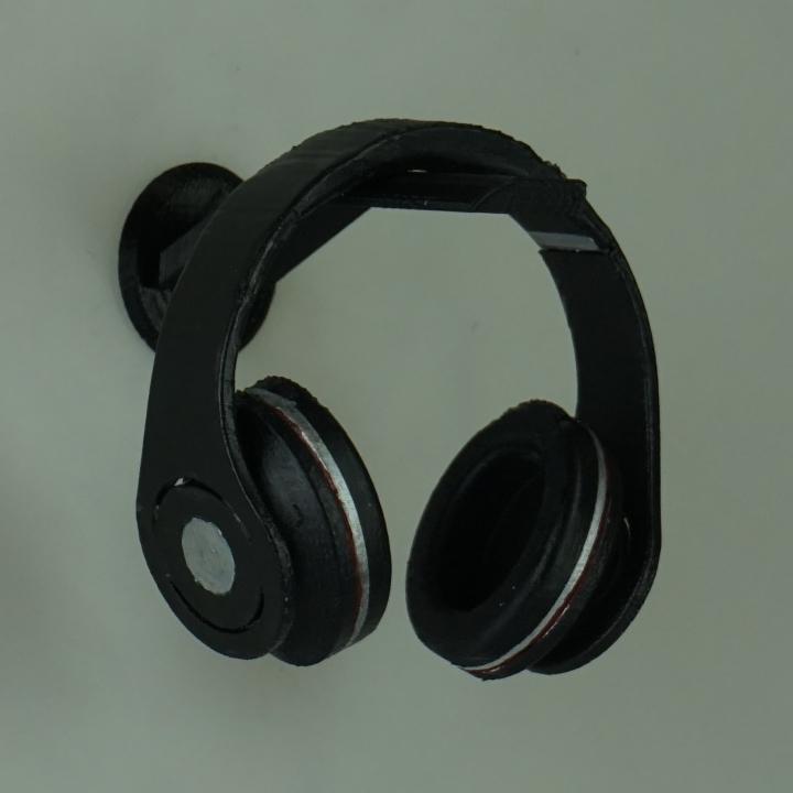 Download wall mounted headphone holder von nigger of2b2t - Wall mount headphone holder ...