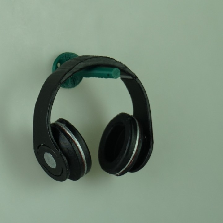 Low Poly Headset Holder