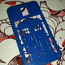 Doctor Who (Tardis) Samsung S5 Cell Phone Case