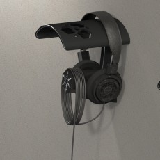 Picture of print of Headphone Hanger RV
