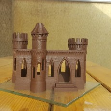 Picture of print of 3D House Printer - Concrete Castle This print has been uploaded by Print Chokolate