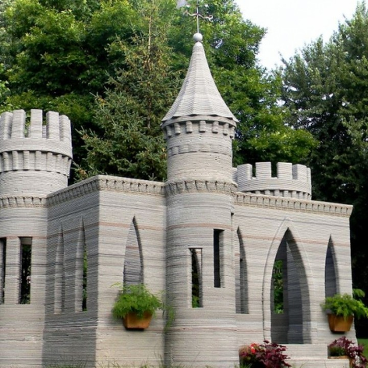 3D House Printer - Concrete Castle