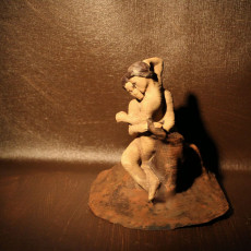 Picture of print of Cupid and Psyche at The Musée Rodin, Paris