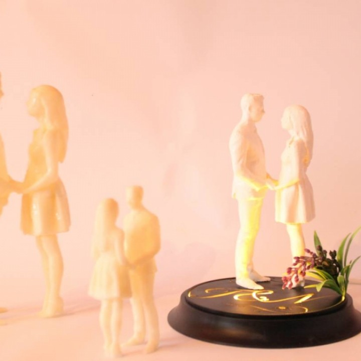 Ipodium | Presentation Display for Your 3D Printed Artwork and Objects