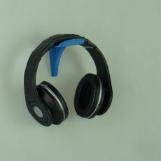 simple headphone wall mount