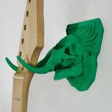 Mammoth guitar hanger