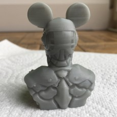 Picture of print of cyberpunk Mickey Mouse 这个打印已上传 BoiledMouse