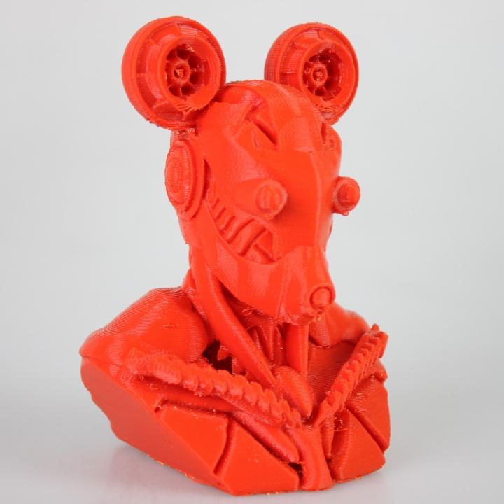 cyberpunk Mickey Mouse