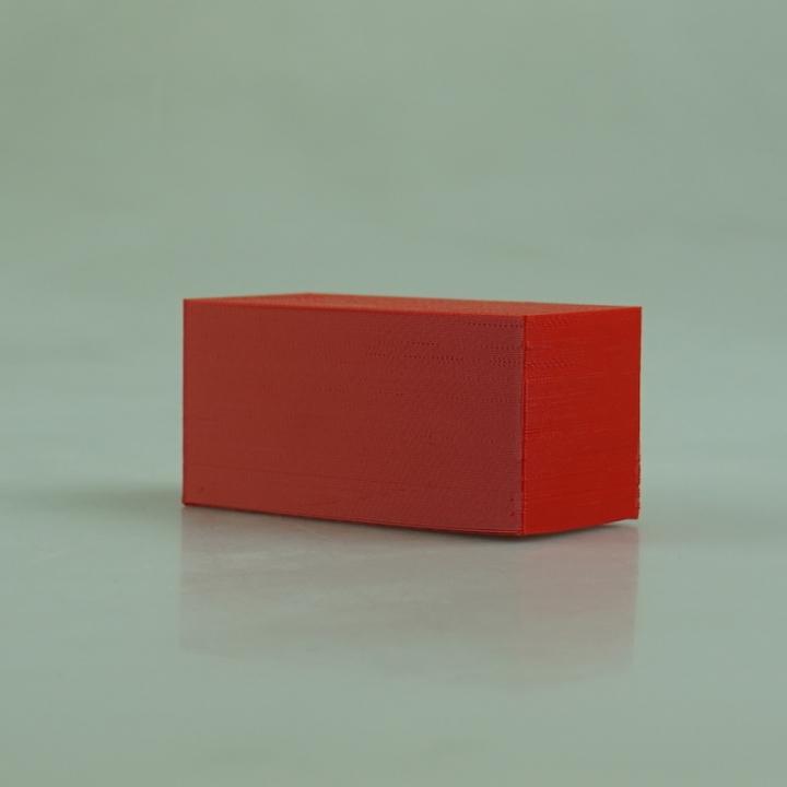 blank box with hole