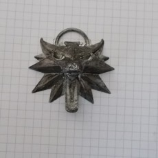 Picture of print of The Witcher 3 - Wolf Head Talisman