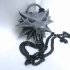 The Witcher 3 - Wolf Head Talisman print image