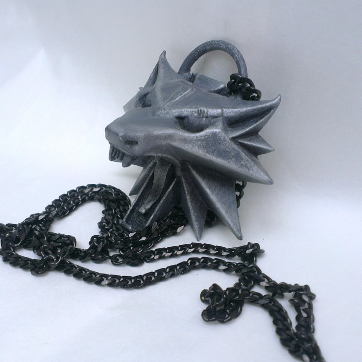 Picture of print of The Witcher 3 - Wolf Head Talisman This print has been uploaded by Sam Lewis